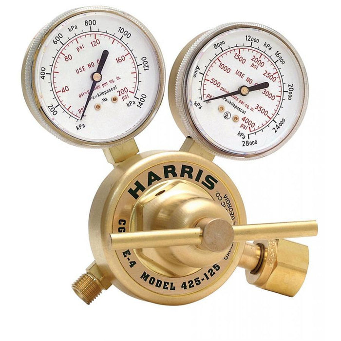 Harris 425-200-580 Heavy Duty Ar, He, N2 Regulator - 3000773