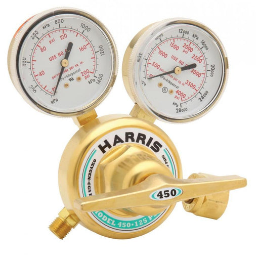 Harris 450-125-540 Heavy Duty Oxygen Regulator - 3002497