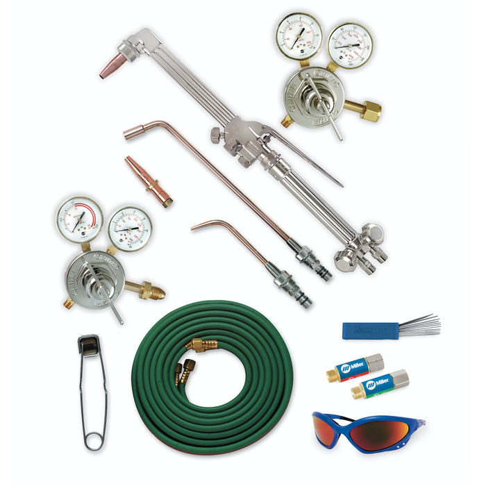 Smith HD Oxy/Fuel Torch Package for Acetylene, CGA 300 - HBA-40300