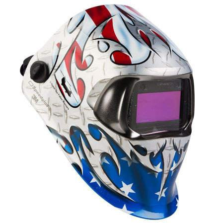 3M Speedglas Tribute Welding Helmet 100 with 100V ADF - 07-0012-31TB