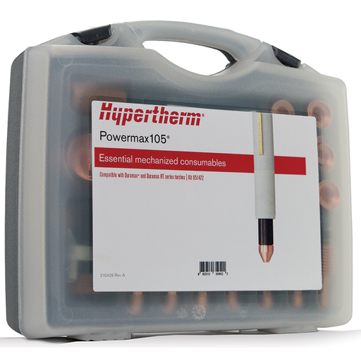 Hypertherm Powermax105 Ess. Mechanized Cutting Consumable Kit - 851472
