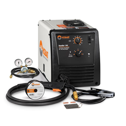 Hobart Handler 140 MIG Welding Machine with gun and ground cable