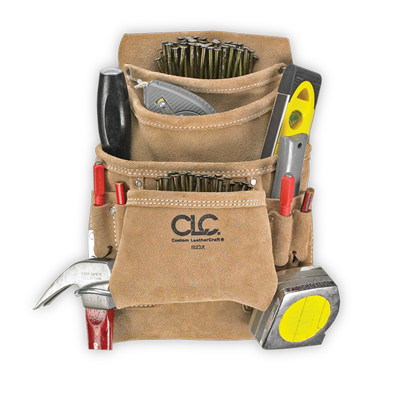 CLC 10 Pocket Carpenter's Nail & Tool Bag - I923X