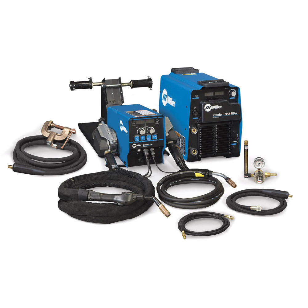 Miller Invision 352 MPa MIG Welder System with D-74 Feeder - 951500