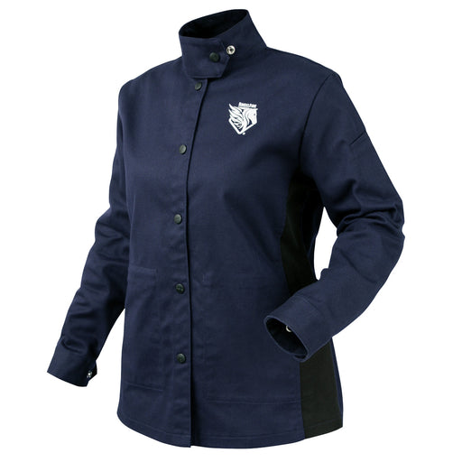 Black Stallion AngelFire Women's FR Cotton Welding Jacket - JF1015-NB