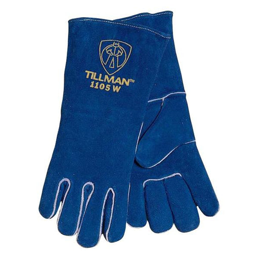 Tillman Blue Ladies Welders Glove - 1105WB2XS