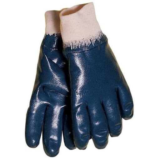 Tillman Nitrile Coated Cotton Gloves - Knit Wrist - 12/pk - 1740