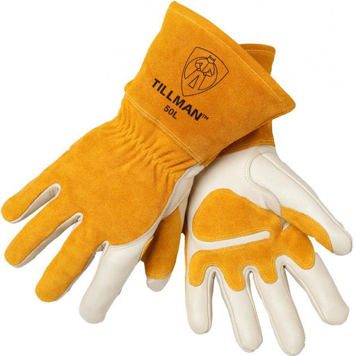 Tillman Heavy Duty Top Grain Split Cowhide MIG Gloves - 50