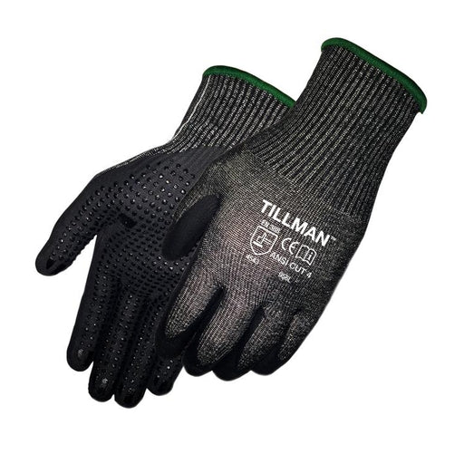 Tillman Dotted Micro Foam Nitrile Cut Resistant Glove - 956