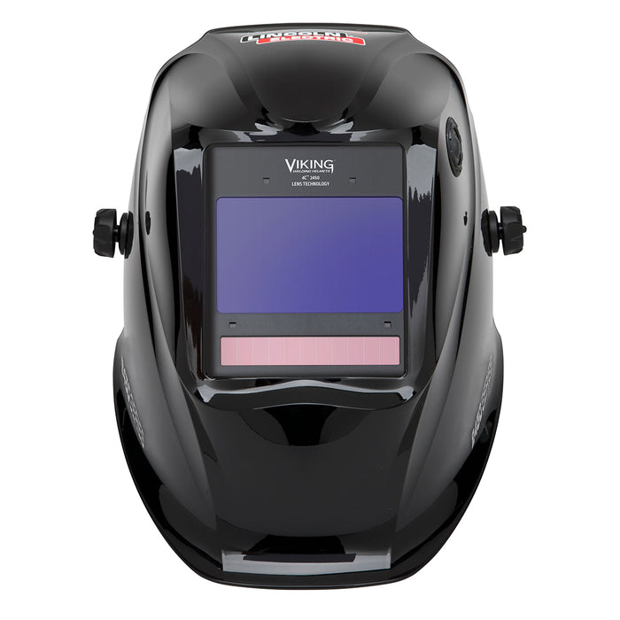 Lincoln Viking 2450 4C Glossy Black 4th Gen Welding Helmet - K3028-4