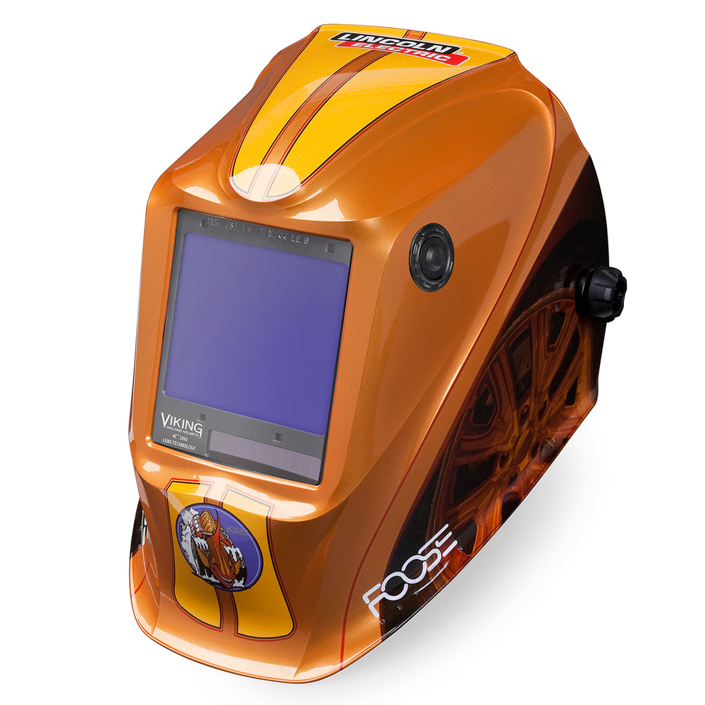 Viking 3350 4C Welding Helmet Terracuda from an angle K3039-4