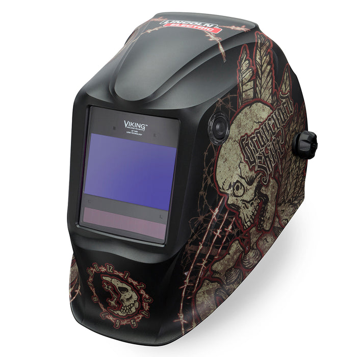 Lincoln Viking 2450 4C Graveyard Shift 4th Gen Welding Helmet - K3099-4