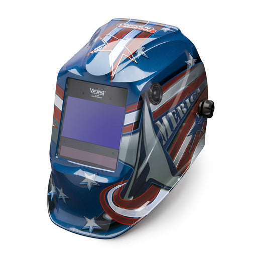 Lincoln Viking 2450 4C All American 4th Gen Welding Helmet - K3174-4
