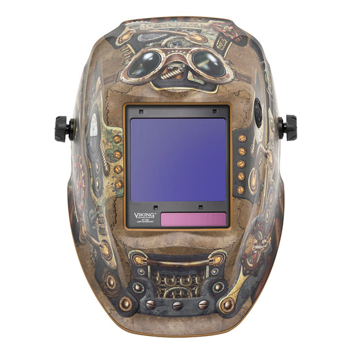 Lincoln Viking 3350 4C Steampunk 4th Gen Welding Helmet - K3428-4