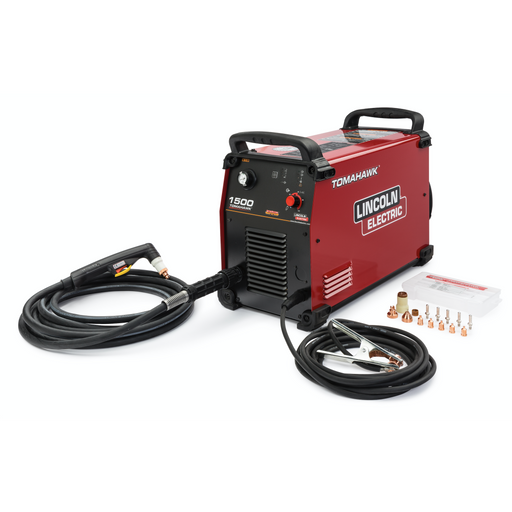 Lincoln Tomahawk 1500 Plasma Cutter w/ 25' Hand Torch - K3477-1
