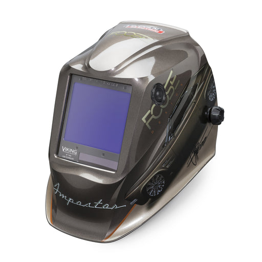 Viking 3350 4C Welding Helmet Foose Imposter from an angle K4181-4
