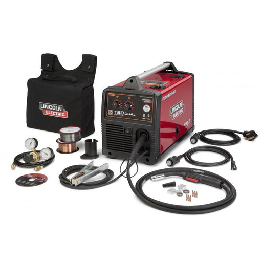 Lincoln Power MIG 180 Dual Voltage 110/230V MIG Welder - K3018-2