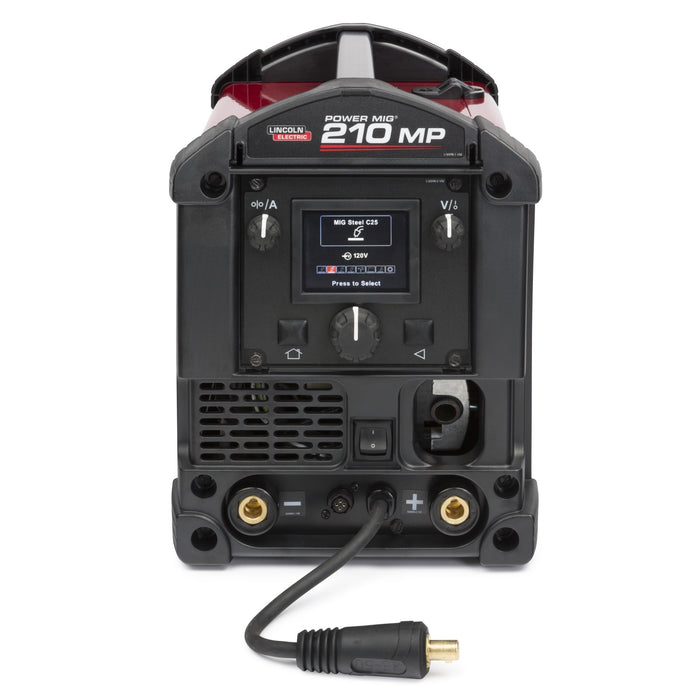 Lincoln Power MIG 210 MP Multi-Process Welder TIG One-Pak - K4195-2