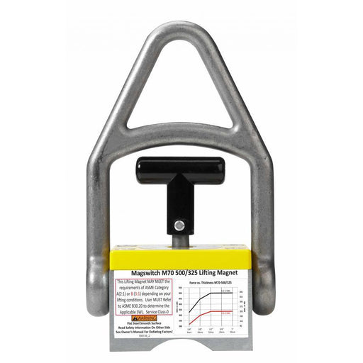 Magswitch 70mm Single Magnet Medium-Duty Lifter - 8100088