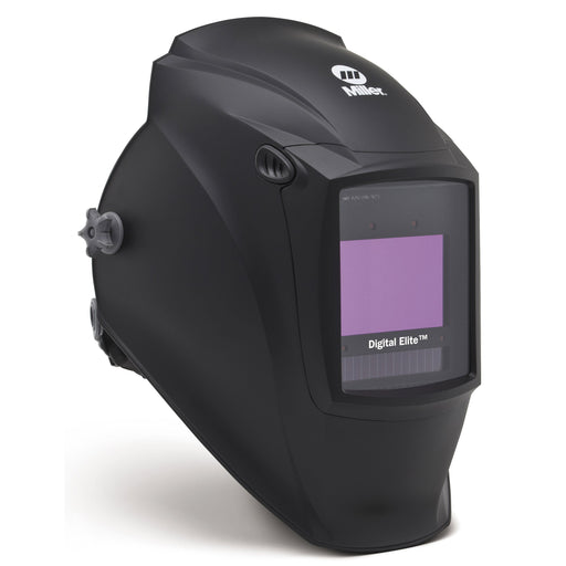 Miller Digital Elite Black Welding Helmet from the side 281000