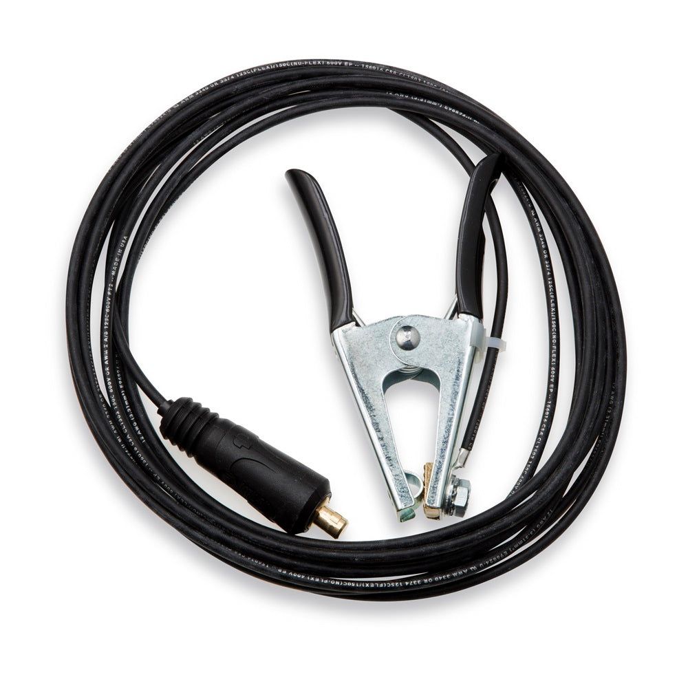Miller Cable, Work 20 FT 12 GA With 200A Clamp & Plug - 263800