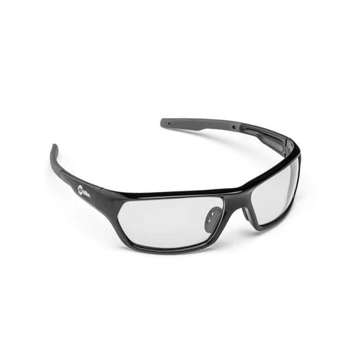 Miller Slag Black Safety Glasses (Clear) - 272201