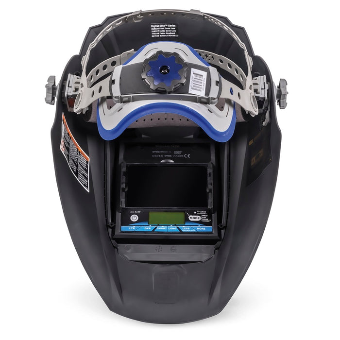Miller Digital Elite Inferno headgear and inside view - 281003