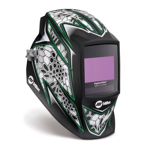 Miller Digital Elite Raptor Welding Helmet from the side 281007