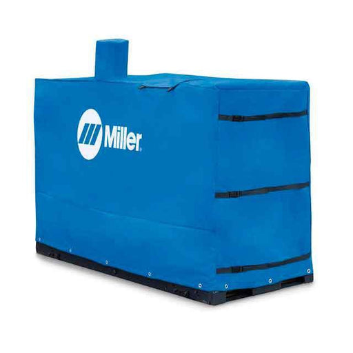 MILLER PROTECTIVE COVER,BLUE W/LOGO 28.5W X 69.5L X 47H - 301113