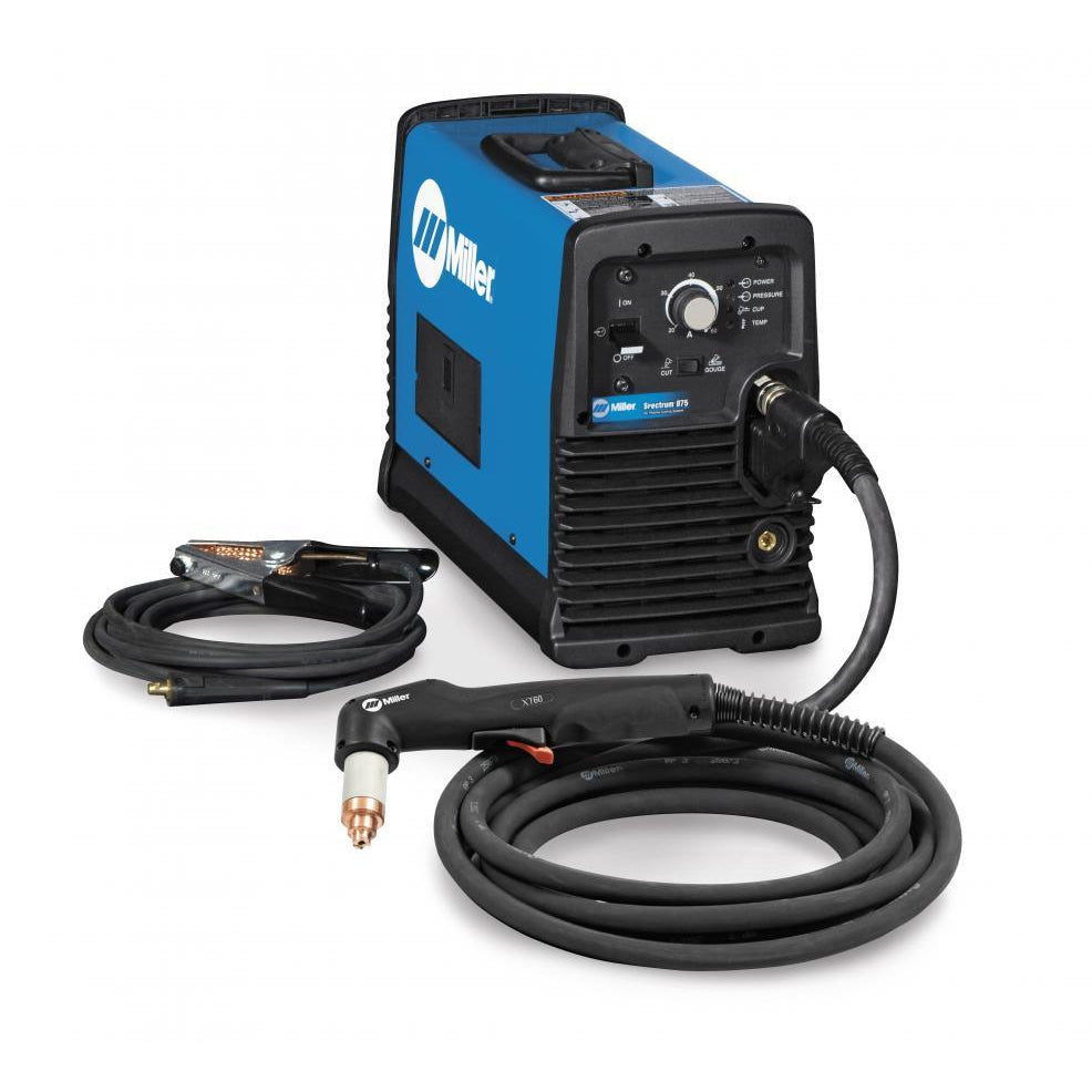 Miller Spectrum 875 Plasma Cutter w 50 ft XT60 Hand Torch - 907583001