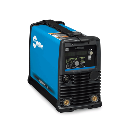 Miller Maxstar 210 STR Stick Welder - 907682 - Side of the Welder