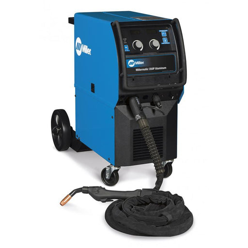 Miller Millermatic 350P AL ONLY Welder w 15ft XR-Aluma-Pro Gun - 951451