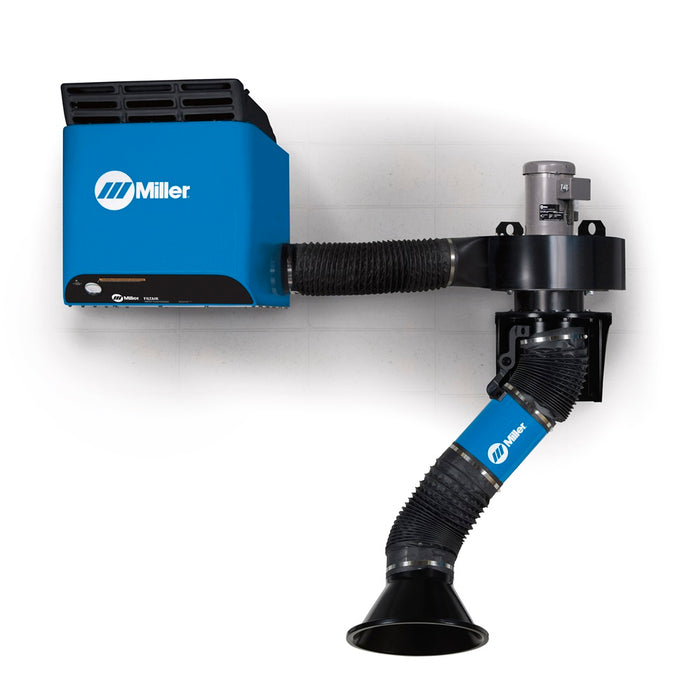 Miller Filtair SWX-D Single Arm Fume Extractor W/ 3-4.5' Telescoping Extraction Arm - 951619