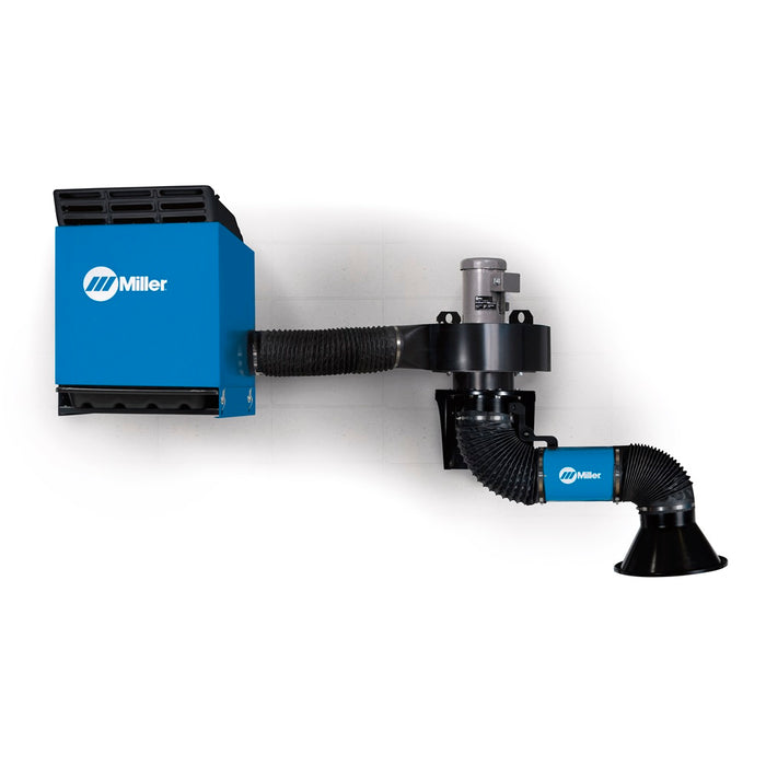 Miller Filtair SWX-S Single Arm Fume Extractor W/ 3-4.5' Telescoping Extraction Arm - 951620
