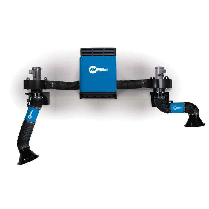 Miller Filtair SWX Dual Arm Add On Package W/ 3-4.5' Telescoping Extraction Arm - 951621