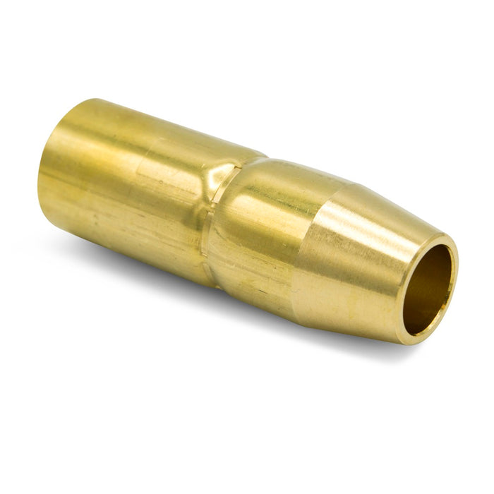 "Miller AccuLock MDX-100 Thread-On Brass Nozzle, 1/2"" Flush - NS-M1200B"