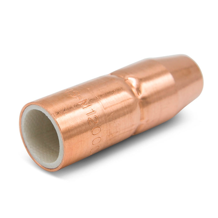 "Miller AccuLock MDX Thread-On Copper Nozzle, 1/2"" Flush 2/pk - NS-M1200C"