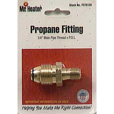 "Mr Heater - LP Polnut & Pigtail - 1/4"" - F276139"