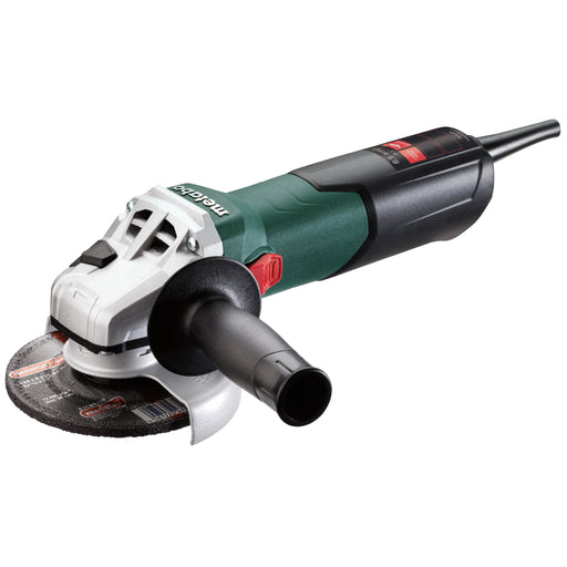 "Metabo W 9-125 5"" 8.5 Amp Angle Grinder w/ lock-on - 600376420"