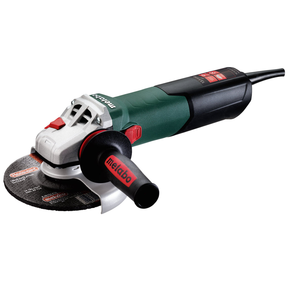 "Metabo WE 15-150 Quick 6"" 13.5 Amp Angle Grinder - 600464420"