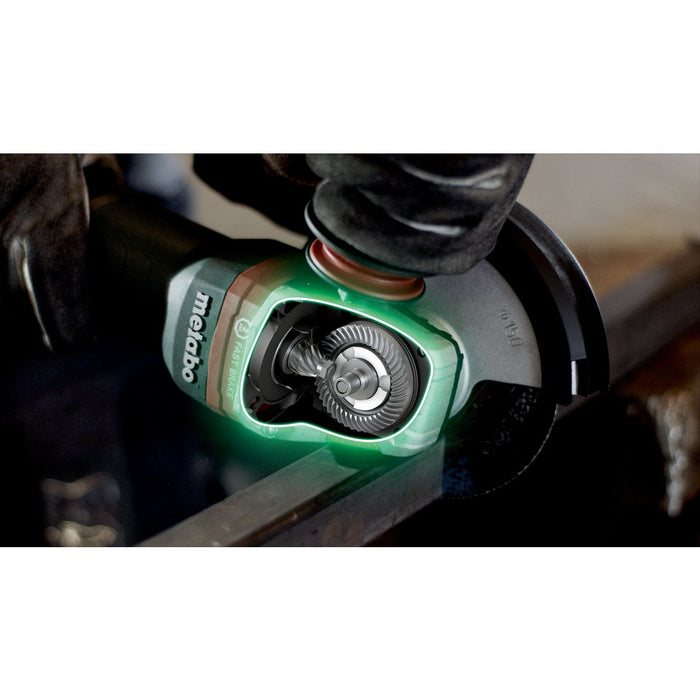 "Metabo WEP 15-150 Quick 6"" 13.5 Amp Angle Grinder - 600488420"