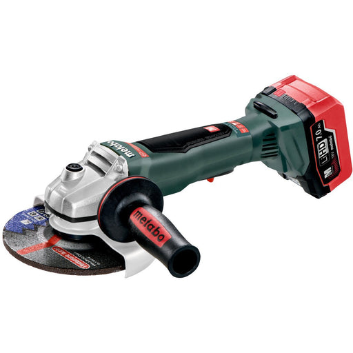 "Metabo WPB 18 LTX BL 150 6"" Cordless Angle Grinder w Case - 613076640"