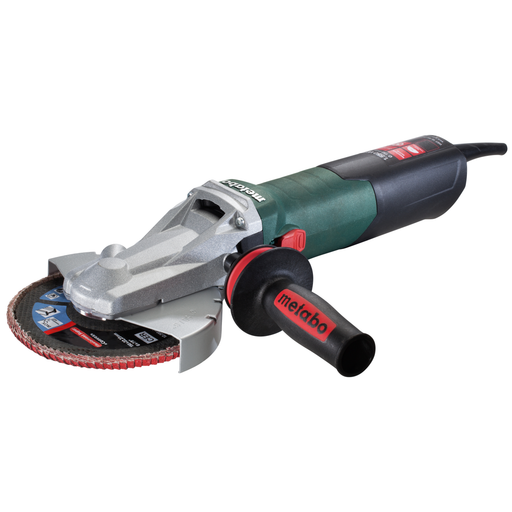 "Metabo WEF 15-150 Quick 6"" Flat-Head Angle Grinder w/ Lock-On - 613083420"