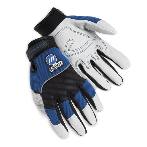 Miller Metalworker Gloves shown from the top and bottom