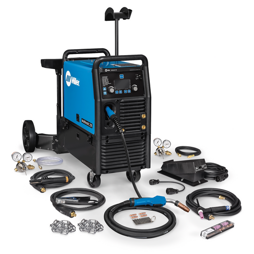 Miller Multimatic 235 with TIG Kit and Dual Cart Complete Package Shown 951847