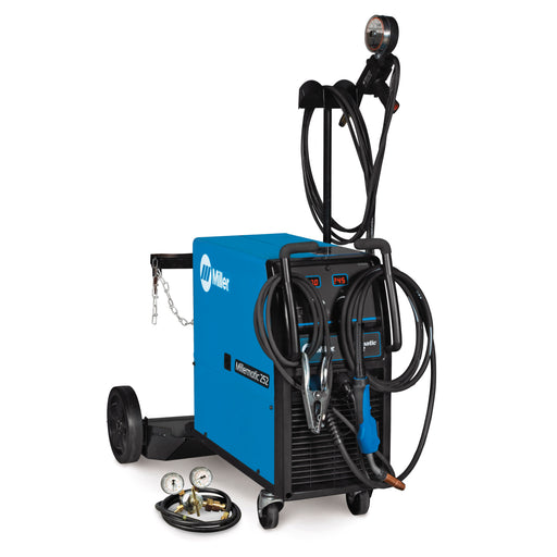 Miller Millermatic 252 MIG Welder w/ Spoolmatic 30A Package, High Voltage - 951065