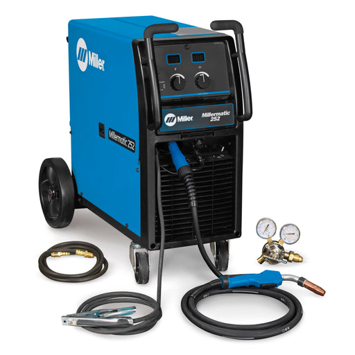 Miller Millermatic 252 High Output Mig Welder complete package - 907321
