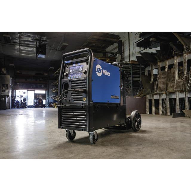 Clean Set up for Mig Welding Machine from Miller
