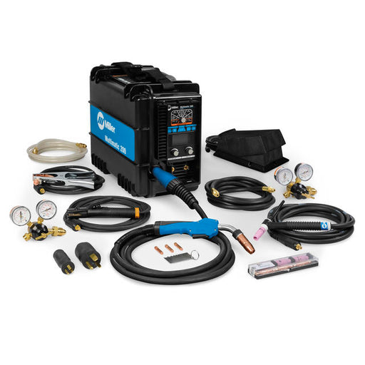Miller Multimatic 200 w/ Auto-Set Elite & TIG Contractor Kit - 951649
