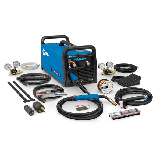 Miller Multimatic 215 All-in-One Multiprocess Welder w TIG Kit - 951674